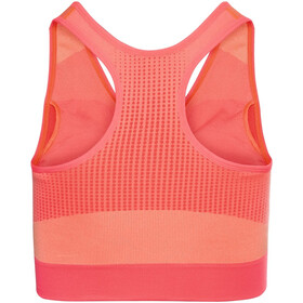 Odlo Seamless High Sports Bra Women, siesta/peach pie